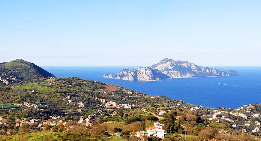 Monte San Costanzo Massa Lubrensse